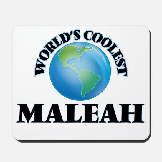 World's Coolest Maleah Mousepad