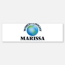 World's Coolest Marissa Bumper Bumper Bumper Sticker