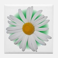Large Daisy Tile Coaster
