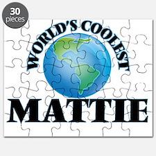 World's Coolest Mattie Puzzle