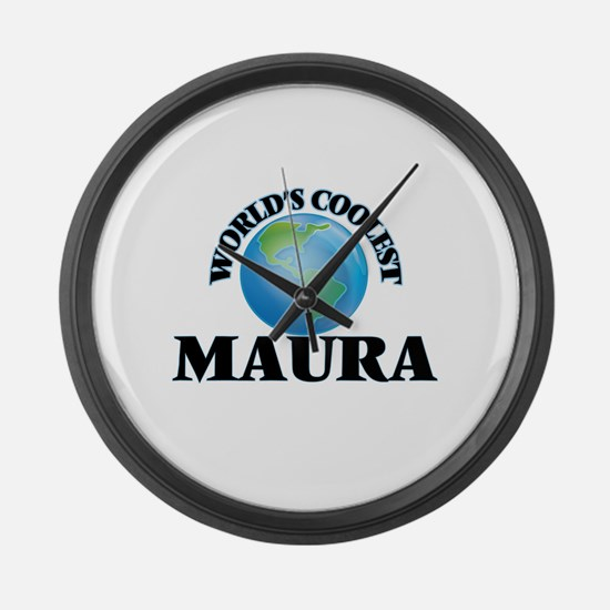 World's Coolest Maura Large Wall Clock