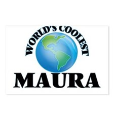 World's Coolest Maura Postcards (Package of 8)