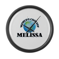World's Coolest Melissa Large Wall Clock