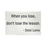 Dalai Lama 12 Rectangle Magnet (100 pack)