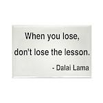 Dalai Lama 12 Rectangle Magnet (10 pack)