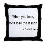 Dalai Lama 12 Throw Pillow