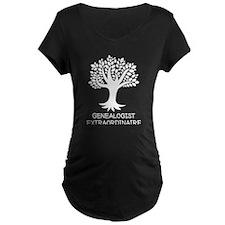 Genealogist Extraordinaire Maternity T-Shirt