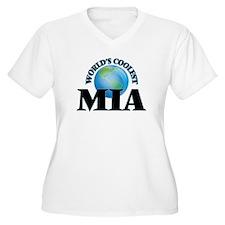 World's Coolest Mia Plus Size T-Shirt