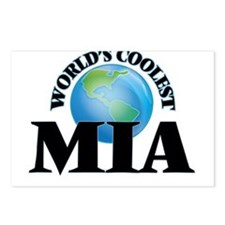 World's Coolest Mia Postcards (Package of 8)