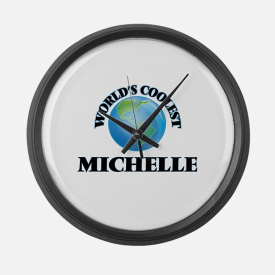 World's Coolest Michelle Large Wall Clock