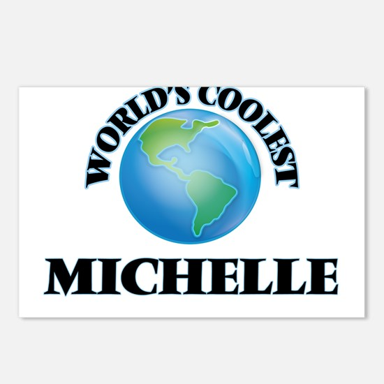 World's Coolest Michelle Postcards (Package of 8)