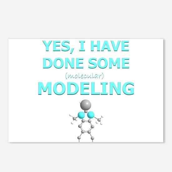Molecular Modeling.png Postcards (Package of 8)