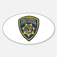 California State Humane Decal