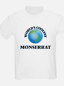 World's Coolest Monserrat T-Shirt