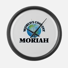 World's Coolest Moriah Large Wall Clock
