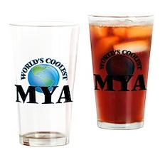 World's Coolest Mya Drinking Glass