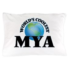 World's Coolest Mya Pillow Case