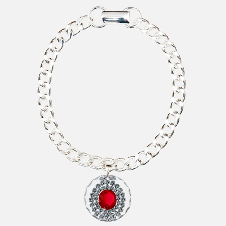 ruby brooch Bracelet