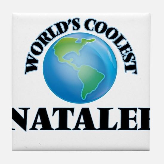 World's Coolest Natalee Tile Coaster