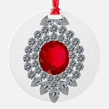 ruby brooch Ornament