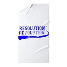 ResolutionRevolutionPink Beach Towel