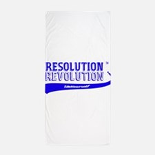 ResolutionRevolutionPink Beach Towel