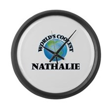 World's Coolest Nathalie Large Wall Clock