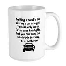 Doctorow Headlights - Large Mugs