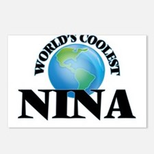 World's Coolest Nina Postcards (Package of 8)