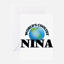 World's Coolest Nina Greeting Cards