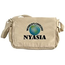 World's Coolest Nyasia Messenger Bag