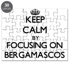 Keep calm by focusing on Bergamascos Puzzle