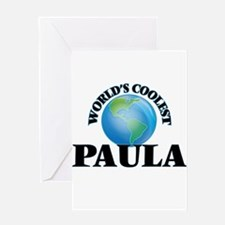 World's Coolest Paula Greeting Cards