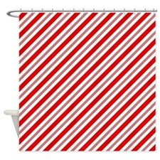 Real Candy Lines Shower Curtain