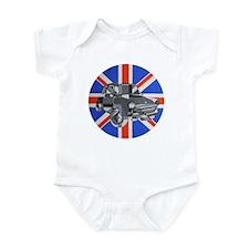 Cute Jack rainbow Infant Bodysuit