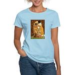 Kiss / Dachshund Women's Light T-Shirt