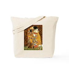Kiss / Dachshund Tote Bag