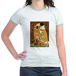Kiss / Dachshund Jr. Ringer T-Shirt