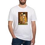 Kiss / Dachshund Fitted T-Shirt