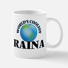 World's Coolest Raina Mugs