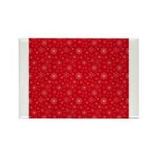 Crimson Cold Rectangle Magnet