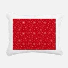 Crimson Cold Rectangular Canvas Pillow