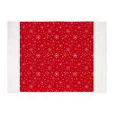 Crimson Cold 5x7Area Rug