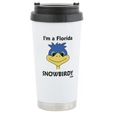 Cute Snowbirds Travel Mug