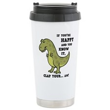Unique Dinosaurs Travel Mug