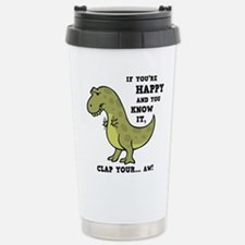 Cute Rex Travel Mug