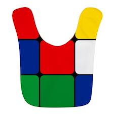 Color Blocks Cube Bib