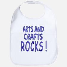 Arts & Crafts Rock ! Bib