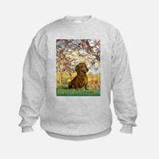 Spring / Dachshund Sweatshirt