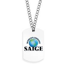 World's Coolest Saige Dog Tags